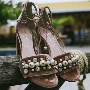 Pretty much new! Kate Spade suede heels